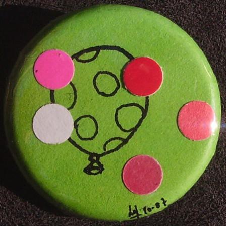 Badge Ballon Vert