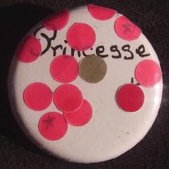 Badge Princesse aux Petits Pois
