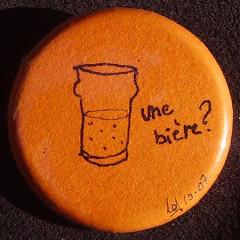 Badge Une Bière?
