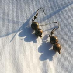 Boucles d'Oreilles Belles de Jaspe
