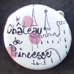 Badge Château de Princesse