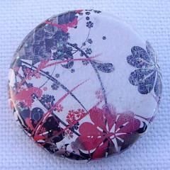 Badge Fleurs