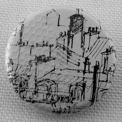 Badge Toîts de Paris - Encre