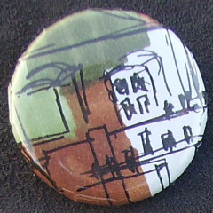 Badge Toîts de Paris - Vert