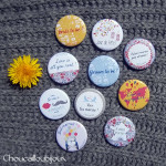 Kit de 10 badges Futurs Mariés - «Bristol»