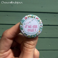 Kit de 6 badges EVJF - « Liberty-Chevalier »