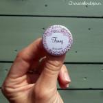 *Kit de 10 badges EVJF - «Retro-Menthe à l'eau»