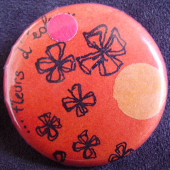 Badge Fleurs d'Eole
