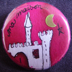 Badge Princesse Ma Maison !