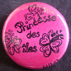 Badge Princesse des îles