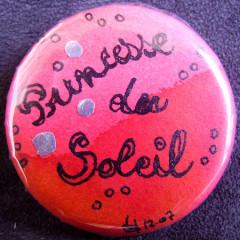 Badge Princesse du Soleil