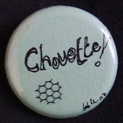 Badge Personnalisé Chouette !