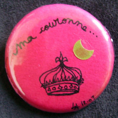 Badge Princesse Ma couronne