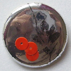 Badge de Mathilde-Badge Miroir de fleurs 2.0