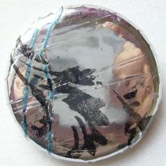 Badge de Mathilde-Miroir de fleurs 1.0