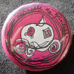Badge Carrosse de Princesse