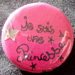 Badge-Je suis une Princesse
