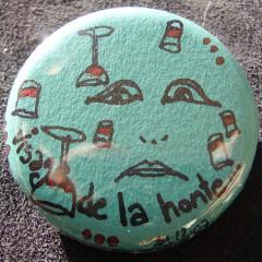 Badge Le Visage de la Honte