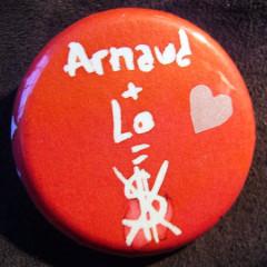 Badge Arno+Lo...