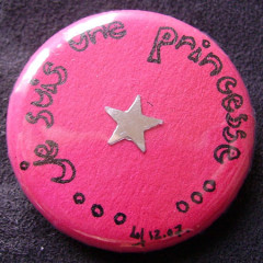 Badge Princesse Star - Collector