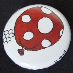 Badge Ballon Rouge