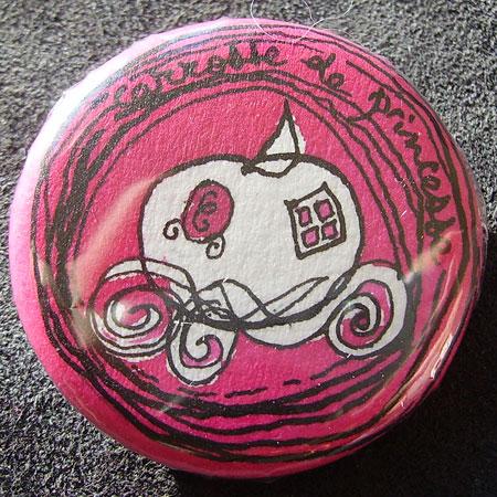 Badge carrosse de princesse choucabi - Carrosse de princesse ...