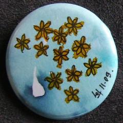 Badge Fleurs d'Eau