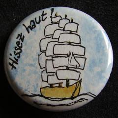 Badge Voilier Hissez Haut !