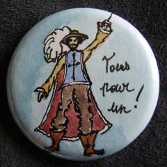 Badge Mousquetaire