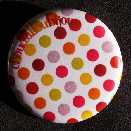 Badge à Pois - Damier