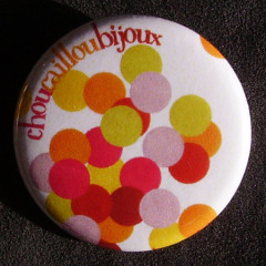 Badge à Pois - Envol
