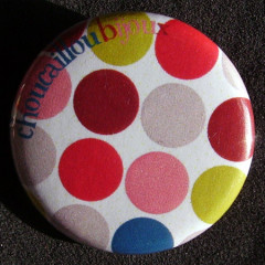 Badge à Pois - Gourmand Bleu