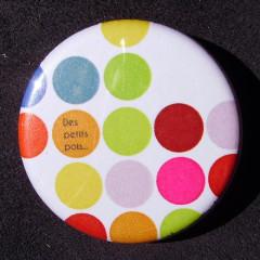 Badge Des petits pois - Multicolore 2