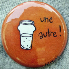 Badge-Une autre orange