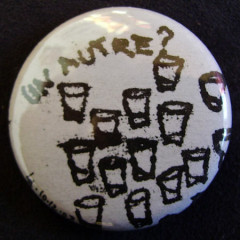 Badge Un autre shot monoprint