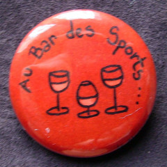 Badge Au Bar des Sports