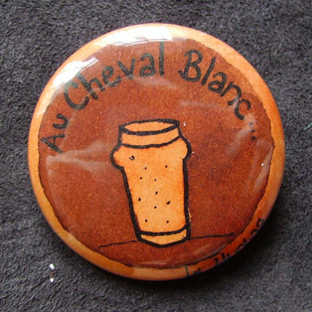 Badge-Au Cheval Blanc