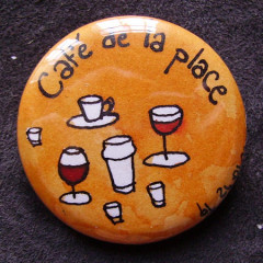 Badge-Café de la Place