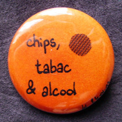Badge-Chips, tabac, alcool...
