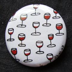 Badge Des ptits verres de Rouge...