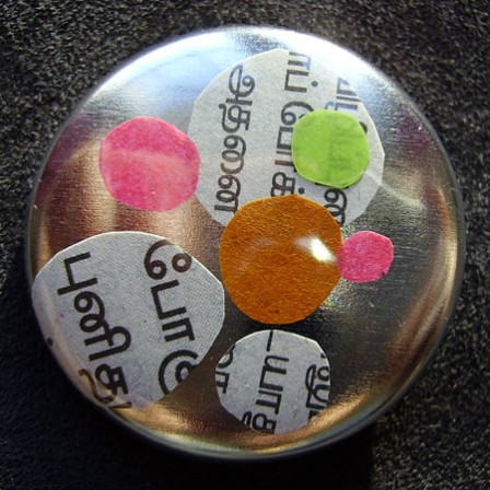 Badge Bulles de Tamoul