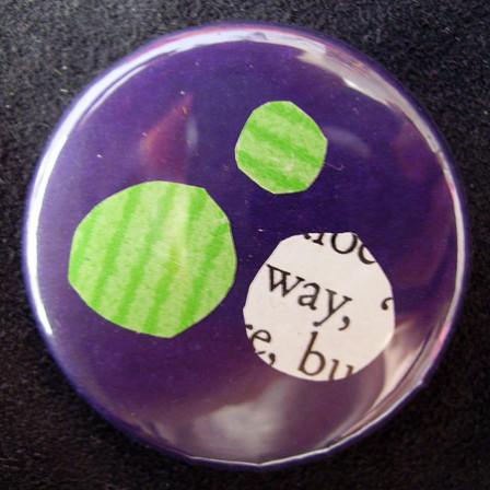 Badge-Indigo Pomme Anglais