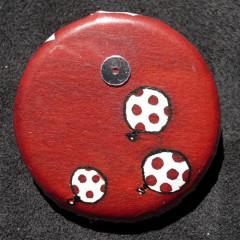 Badge Ballons Rougeolés