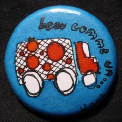 Badge Beau comme un ptit Camion
