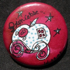 Badge Carrosse à Pois