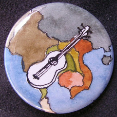 Badge Asie & Guitare