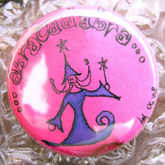 Badge Abracadabra