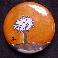Badge Arbre Roux 1.0