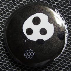 Badge Ballon Noir 2.0