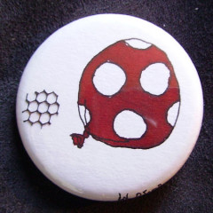 Badge Ballon Rouge 1.0